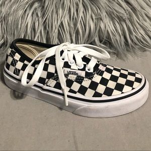 Vans little boys/girls checkered classic youth 13